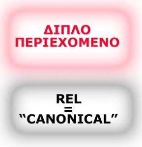 """Επαναδημοσίευση ίδιων άρθρων και ο κανόνας rel=""""canonical"""""""