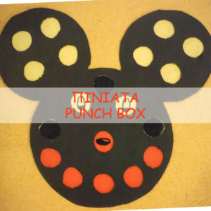 Mickey mouse punch box πινιάτα!